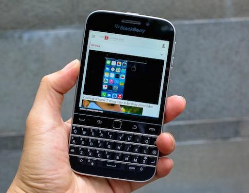 BlackBerry Classic xuất hiện tại VN một ngày sau khi ra mắt