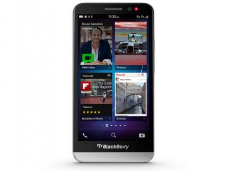 BlackBerry giới thiệu smartphone màn hình 5 inch