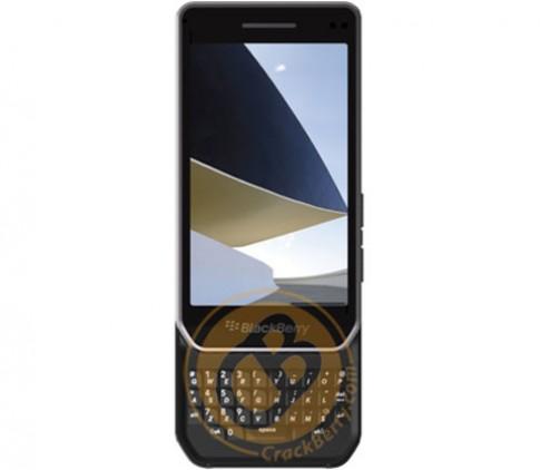 BlackBerry Milan dạng trượt lộ ảnh