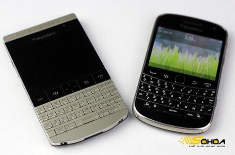 BlackBerry P'9981 đọ dáng với Bold 9900