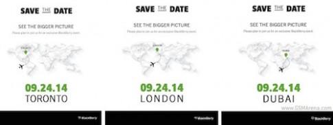 BlackBerry Passport dáng lạ sẽ ra mắt ngày 24/9