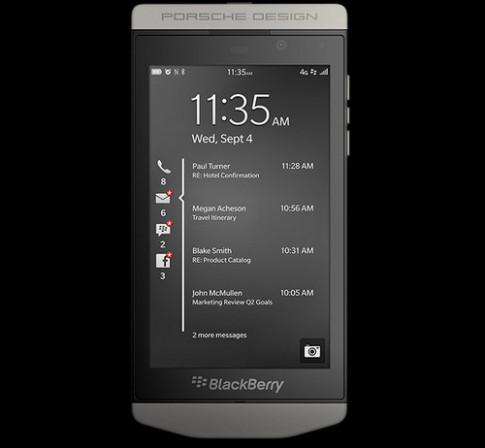 Blackberry ra smartphone cảm ứng hạng sang giá 2.400 USD