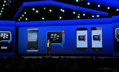 BlackBerry ra ứng dụng nhắn tin BBM miễn phí cho Android và iOS