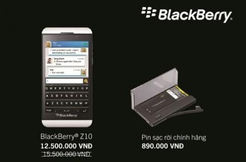 BlackBerry Z10 giá 12,5 triệu đồng
