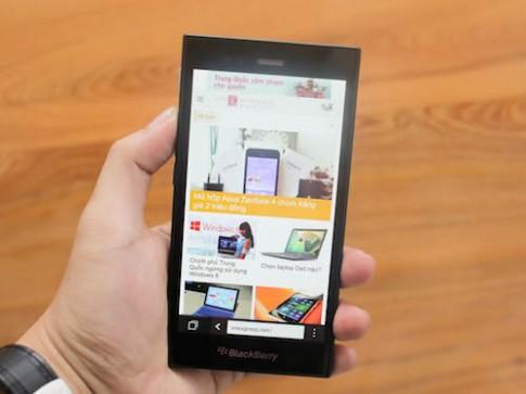 BlackBerry Z3 về Việt Nam đầu tháng 7 giá dưới 5 triệu đồng
