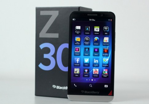 BlackBerry Z30 về Việt Nam với giá 15,5 triệu đồng