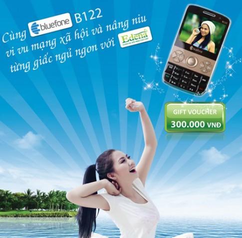 Bluefone B122 có Wi-Fi, 2 sim 2 sóng giá rẻ