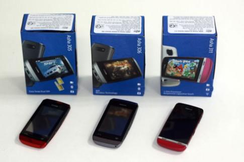 Bộ 3 Asha giá rẻ của Nokia tại VN