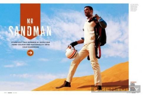 Bộ ảnh thời trang sắc màu rực rỡ trên Esquire Middle East