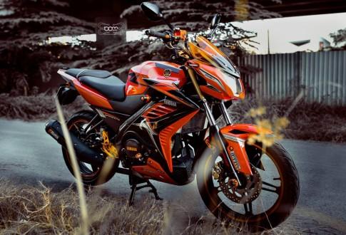 Bo anh tuyet dep Yamaha FZ150i do cua biker Sai Gon