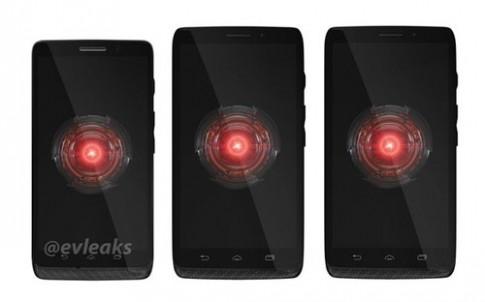 Bộ ba điện thoại Android mới của Motorola xuất hiện