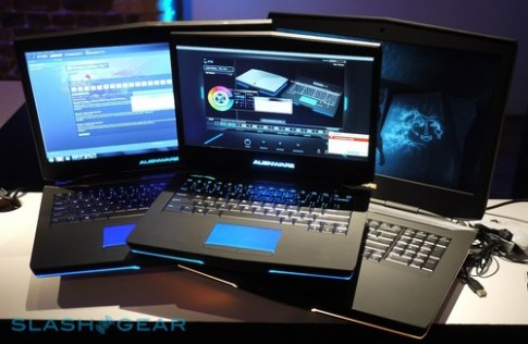 Bộ ba laptop chơi game 'khủng' của Alienware