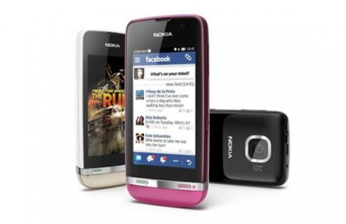 Bộ ba Nokia Asha cảm ứng sắp tới VN