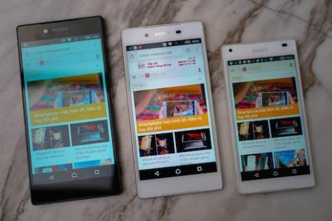 Bộ ba Sony Xperia Z5 xuất hiện tại Việt Nam