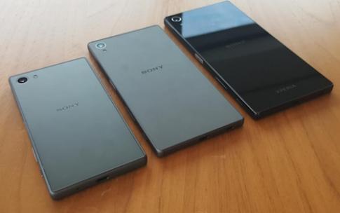 Bộ ba Xperia Z5 lộ ảnh thực tế trước ngày ra mắt