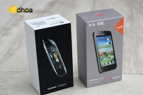 Bộ đôi Android Huawei cao cấp về VN