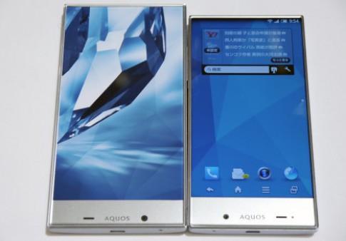 Bộ đôi Android màn hình viền siêu mỏng của Sharp