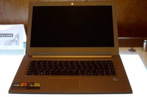 Bộ đôi laptop Lenovo IdeaPad dòng Z mới, giá từ 11,99 triệu đồng