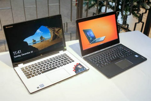 Bộ đôi laptop màn hình xoay mới của Lenovo tại Việt Nam