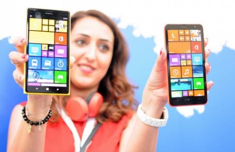 Bộ đôi Lumia màn hình 'khổng lồ' của Nokia