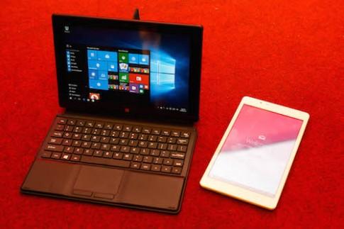 Bộ đôi máy tính bảng Việt giá 3 triệu chạy Windows 10