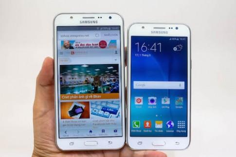 Bộ đôi smartphone chuyên selfie góc rộng của Samsung lên kệ