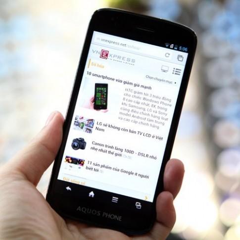 Bộ đôi smartphone của Sharp sắp bán tại Việt Nam