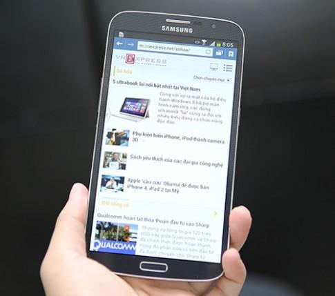 Bộ đôi smartphone màn hình cỡ lớn của Samsung về Việt Nam