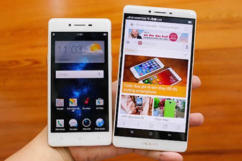 Bộ đôi smartphone Oppo R7 về VN trong tháng 9