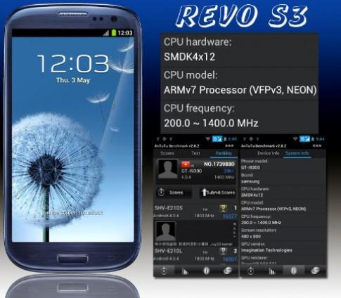 Bộ đôi smartphone Revo hút khách
