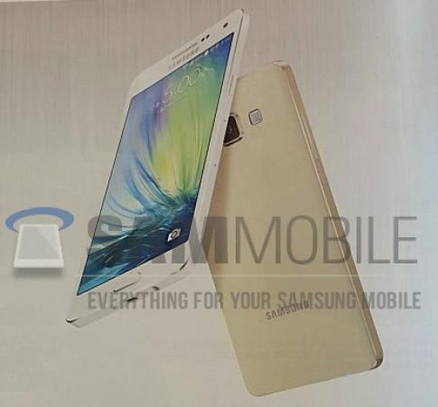 Bộ đôi smartphone siêu mỏng Galaxy A7 và Grand Max lộ diện