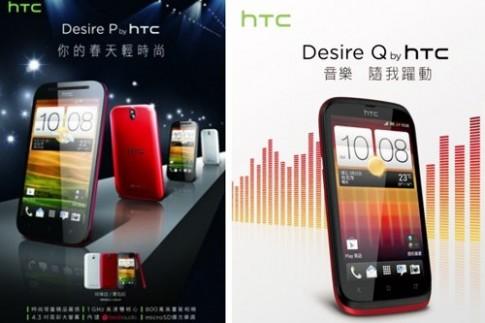 Bộ đôi smartphone tầm trung mới của HTC