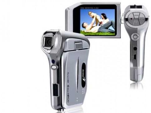 Bộ máy ảnh, máy quay giá rẻ của Genius