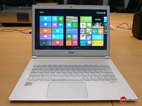 Bộ máy tính Windows 8 sắp ra cuối tháng 10 của Acer