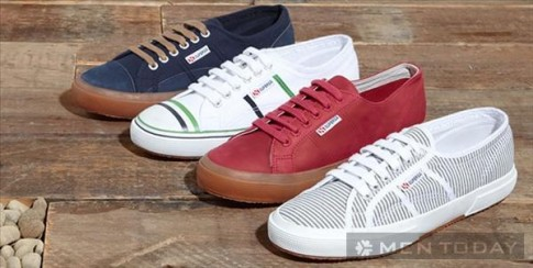 Bộ sưu tập giày sneakers nam từ Oliver Spencer x Superga