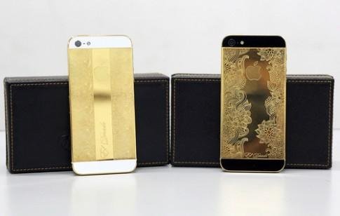 Bộ sưu tập iPhone mạ vàng, đính kim cương ở VN