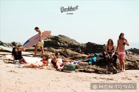 Bộ sưu tập thời trang đi biển cho nam từ Burkhart California