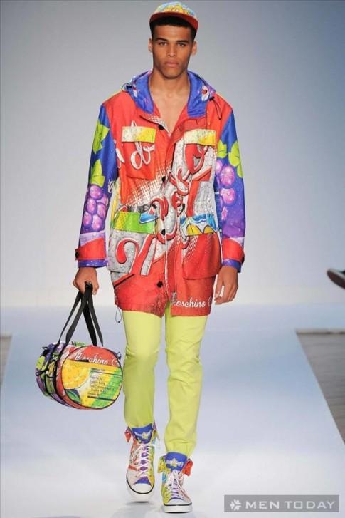 Bộ sưu tập thời trang nam xuân hè 2015 của Moschino