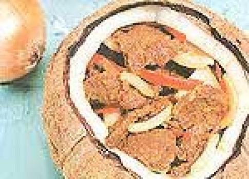 Bò trái dừa