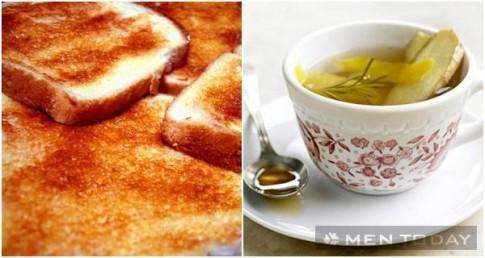 Bốn bữa sáng phù hợp để giải rượu