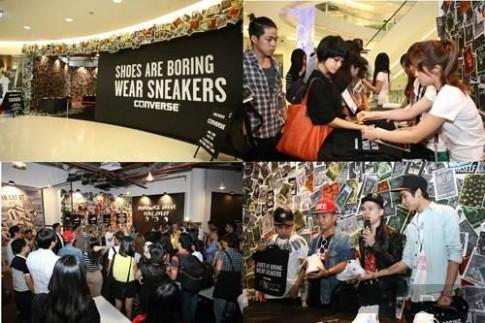 BST giày Converse thu – đông 2013 đầy cá tính