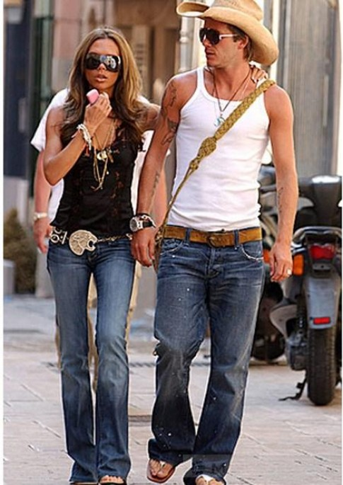 BST mũ đủ kiểu dáng của David Beckham