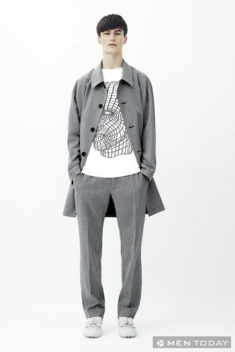 BST thời trang nam 2014 hiện đại từ Christopher Kane