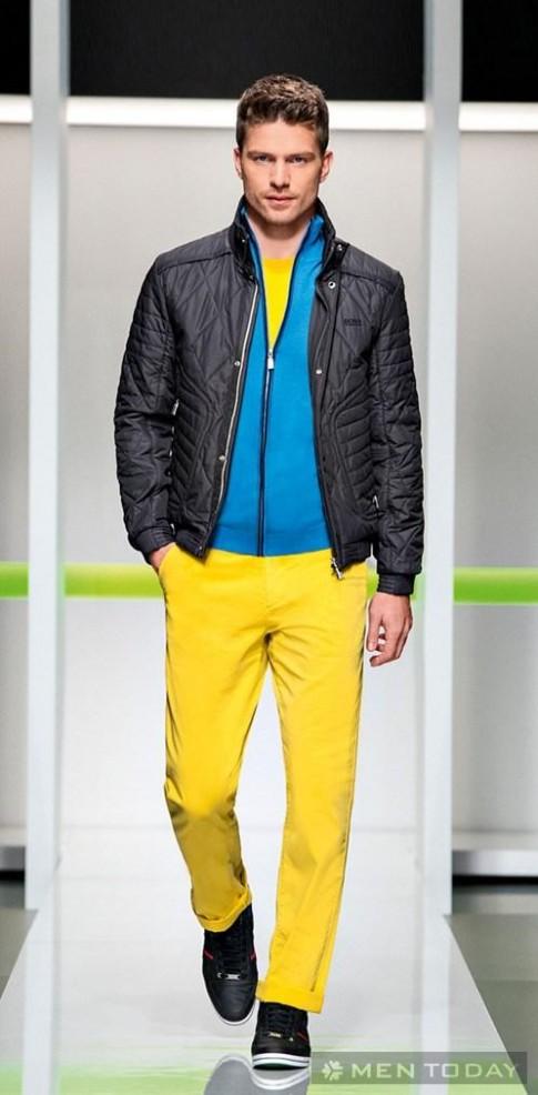 BST thời trang nam thu đông 2013 đầy sắc màu từ Hugo Boss