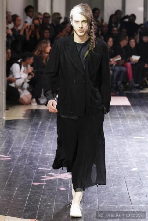 BST thời trang nam Xuân Hè 2014 độc đáo của Yohjl Yamamoto