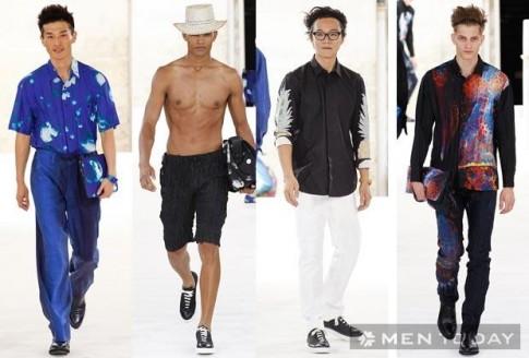BST thời trang nam xuân hè 2015 của Issey Miyake