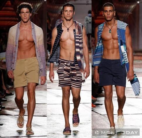 BST thời trang nam xuân hè 2015 của Missoni
