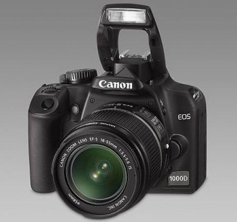 Các dòng DSLR của Canon