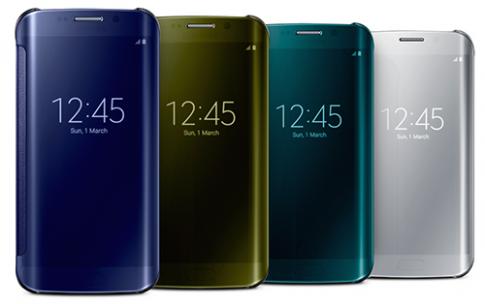 Các lựa chọn màu trên Galaxy S6 và Galaxy S6 Edge