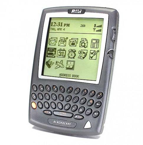 Các mẫu BlackBerry đình đám từ năm 2000